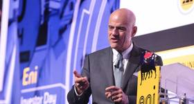 Eni CEO Claudio Descalzi (File photo: Eni)