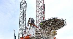 Keppel's KFELS B Heimdal rig - Image source: Keppel Corporation