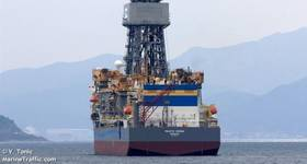 Pacific Zonda drillship - Image by V. Tonic - Marine Traffic