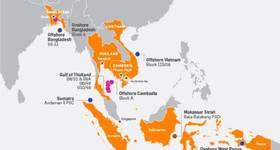 KirsEnergy assets - Map Source: KrisEnergy