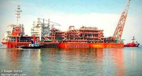 Eni's Merakes gas field will be tied to the Jangkrik FPU - Image by Rutger Hofma - MarineTraffic