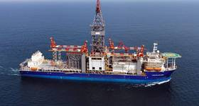 Total will use Vantage Drilling's Tungsten Explorer drillship to drill in Lebanon. The rig has arrived at the offshore location this week.  Image credit: Vantage Drilling