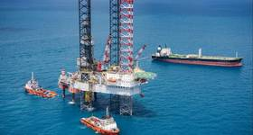 Illustration; A Drilling rig in the Gulf ot Thailand - Credit: nattapon7