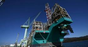 Petronas' recently launched FLNG vessel - For illustration. Credit: Petronas