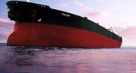 VLCC being converted into the FPSO bound for Marlim project in Brazil.