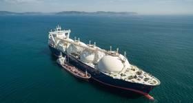 Illustration; An LNG Carrier - Image by vladsv/AdobeStock
