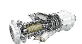 The SGT-300 gas turbine - Credit: Siemens