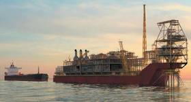 Artist's impression of the Sangomar FPSO - Image: Woodside