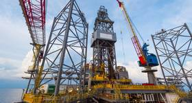 Illustration only: A jack-up drilling rig - Image by / nakaret4