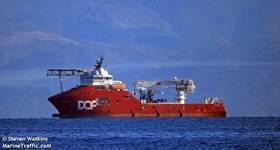 A DOF Subsea vessel - Credit: Steven Watkins/MarineTraffic