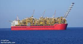 Shell's Prelude FLNG - Credit: CapTom/Marinetraffic.com