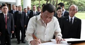 Rodrigo Duterte (File Photo) - Credit: Republic of Korea/Flickr CC BY-SA 2.0