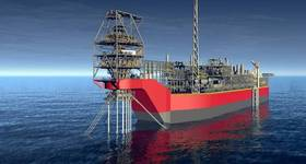 Rendering of the Sangomar Field Development FPSO (Image courtesy of SOFEC)