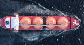 An LNG Tanker-Illustration by alexlmx/AdobeStock