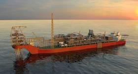 Sangomar FPSO Illustration - Credit: Woodside