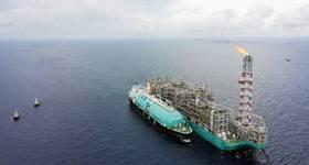 Illustration - Petronas' FLNG unit - Credit: Petronas