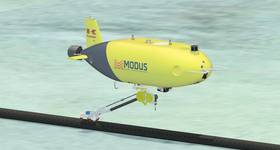 Kawasaki's SPICE AUV, acquired by Modus. Image from Modus.