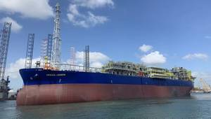 FPSO Abigail-Joseph - According to Keppel this was the world's fastest brownfield FPSO modification and upgrading project - Credit:Keppel