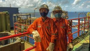 PetroVietnam's offshore workers - Image Credit: Petrovietnam