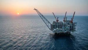 Leviathan Platform (File Photo: Noble Energy)