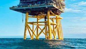 Premier Oil's North Sea platform - Credit: Premier Oil
