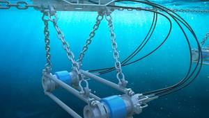 Sercel's new marine acoustic source for seismic acquisition in sensitive areas (Image courtesy of Sercel)