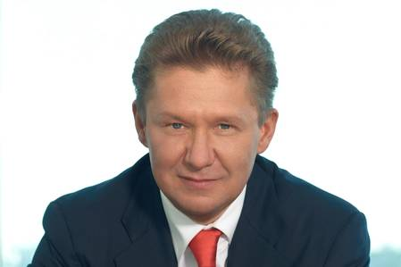 Gazprom CEO Says Output Up This Year
