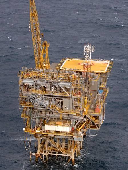 The Barracouta platform in Bass Strait (Photo: ExxonMobil)