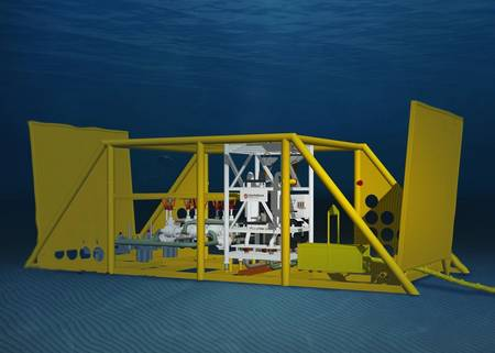Boosting technology from Schlumberger''s OneSubsea (File image: Schlumberger)