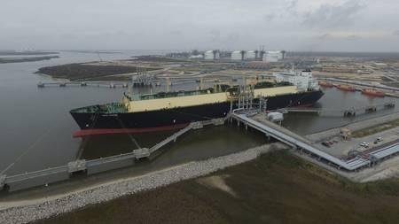 Cheniere''s Sabine Pass LNG facility (CREDIT Cheniere)