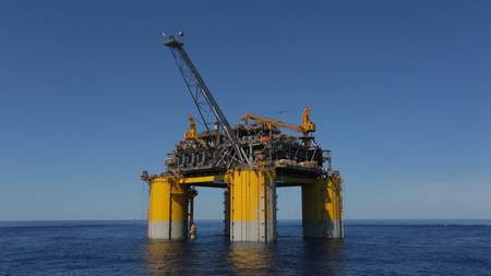 The Stampede platform in the Gulf of Mexico (Photo: Hess)