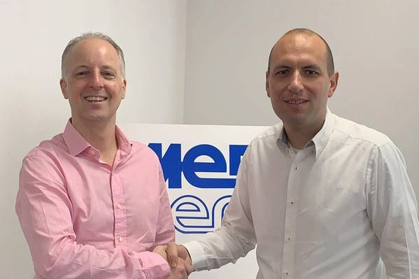 Left to right: Andrew Mackay, co-CEO at Infinity Oilfield Services and Director of InMedCo, with Karl Bartolo, CEO at Medserv Group (Photo: Infinity Oilfield Services)
