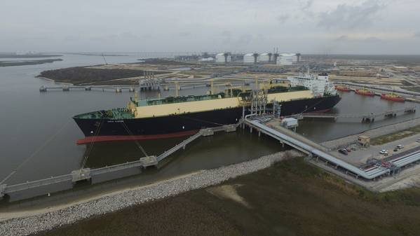 The cheniere Sabine Pass facility (CREDIT: Cheniere)
