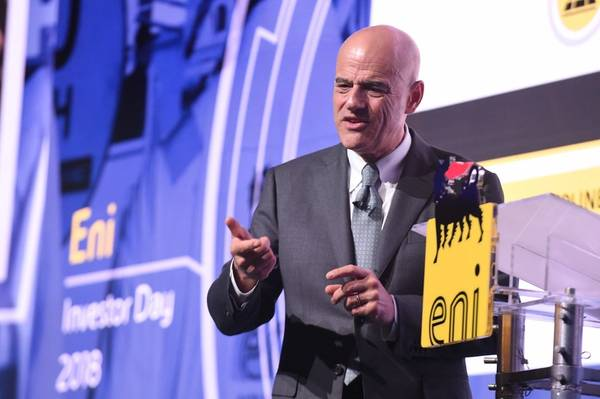 Eni CEO Claudio Descalzi (File photo: Eni)