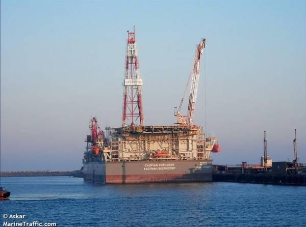 Caspian Explorer - Image by Askar / Marine Traffic