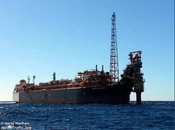Armada Claire FPSO / Image by Marty Wenham / Marine Traffic