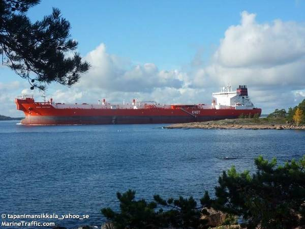 Illustration: A KNOT tanker - Image by: tapanimansikkala_yahoo_se - MarineTraffic