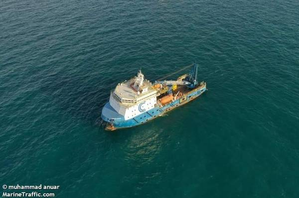 For illustration; Carimin Acacia accommodation workboat - Image by muhammad anuar - Marine Traffic