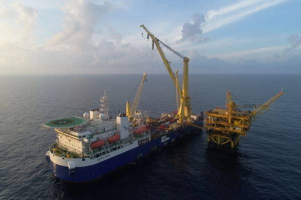 A Sapura Energy vessel - Credit: Sapura Energy