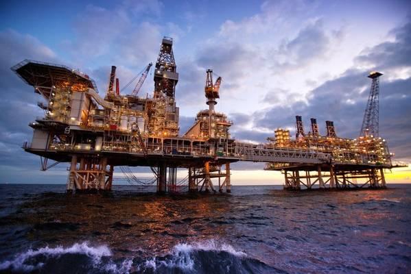 BP's platform in Azerbaijan / Image Credit: BP