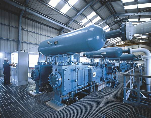 There are more than 3,000 HHE-class compressors in operation worldwide today.  - Image: Siemens