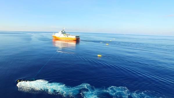 File photo Chinese seismic vessel Haiyang Dizhi 8 (Credit: China Geologic Survey)