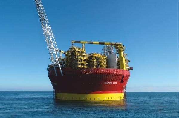 A Dana Petroleum FPSO in the North Sea