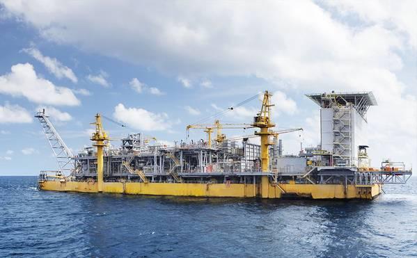 Floating Production Unit at Chevron's IDD project (Photo: Chevron)