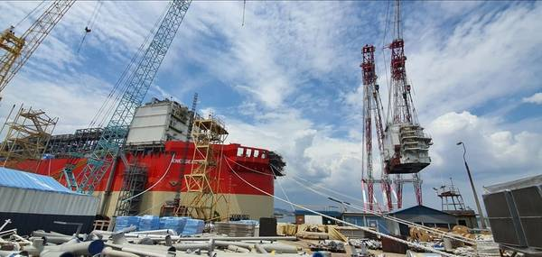 LQ Lifted - Credit: Energean Power FPSO