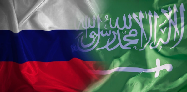 Russia/Saudi Arabia flags - Credit:evgenii/AdobeStock