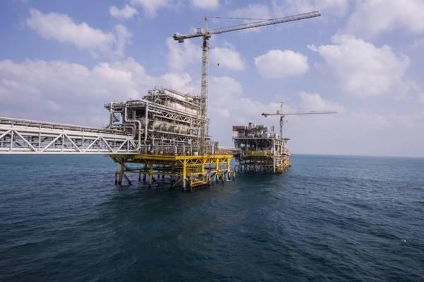 Illustration - Safaniya oil field in Saudi Arabia - Credit: Saudi Aramco