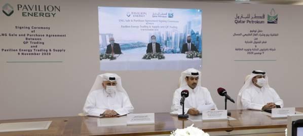 Signing ceremony - Credit: Qatar Petroleum