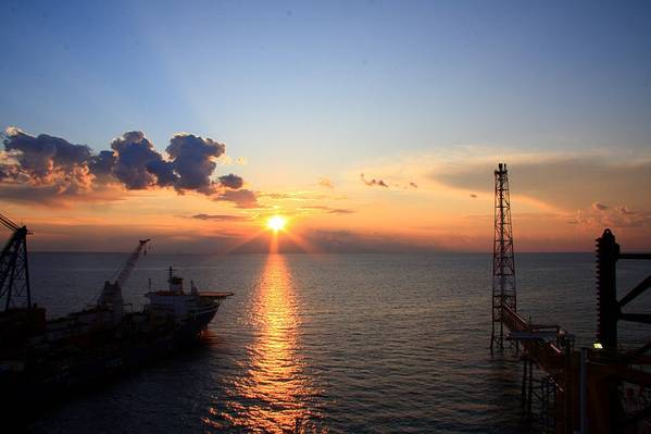 South Pars field offshore Iran / Credit: Alireza824/Wikimedia Commons