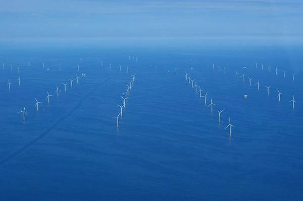 Illustrative photo from an existing Ørsted offshore wind farm in the UK. - Credit: Orsted